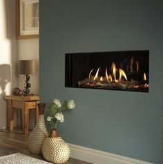 Verine Eden High Efficiency Hole In The Wall Gas Fire - Direct Fireplaces Fireplace Inserts, Fireplace Wall, Fireplace Design, Fireplace Ideas, Wall Fireplaces, Fireplace Mantels, Wall Gas Fires, Wall Mount Electric Fireplace, Wall Mounted Electric Fires