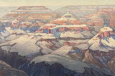 Grand Canyon,  1925 - Yoshida Hiroshi