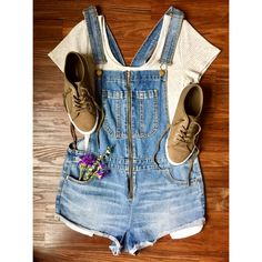 Overall Shorts, Boho Fashion, Overalls, Women, Style, Women's, Jumpsuits, Boho Outfits, Bohemian Fashion