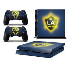 L.A GALAXY Playstation 4 PS4 Skin Decal Sticker Cover Playstation 4 Custom Made