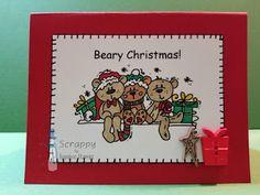 Oldie But Goodie Bugaboo, Bugs, Challenges, Stamp, Christmas, Cards, Yule, Beetles, Stamps