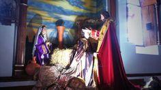 En Guatapé la semana santa se realiza en vivo.