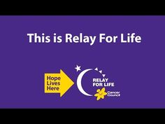 Relay For Life - Paint Your World Purple - YouTube