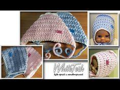 Вязание крючком, рельефный узор №1. Crochet Pattern 1 - YouTube
