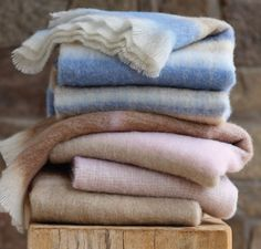 Experience pure luxury with Hinterveld's extensive 2015 collections; the brand's mohair blankets and garments are sure to exuberate sophistication and allure all-year-round.