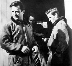 Jack Kerouac (left) with Neal Cassady