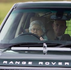 Queen Elizabeth Behind The Wheel Travelling To And From Grouse Shoot Near Balmoral Estate Scotland On 20 Sep 2013