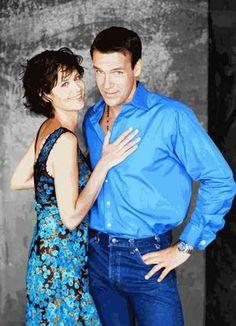 Sarah and Harm Ncis, Katherine Bell, David James Elliott, Best Tv Couples, A Fine Romance, Classic Actresses, Man Vs, Por Tv, Celebs