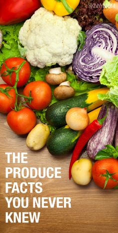 Check out these produce facts!