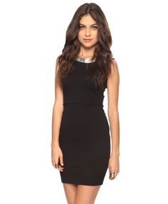 simple black dress from Forever 21