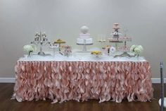 Dessert Table Baby Shower It's A Girl!