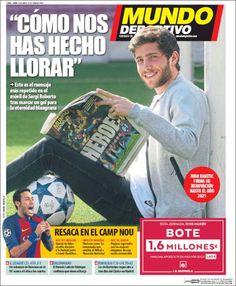 Portadas de los diarios deportivos - Diarios de Futbol