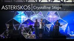 Asteriskos Design: Yeasayer Crystalline Stage on Vimeo
