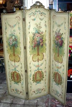 Eye For Design: Decorating With Folding Screens