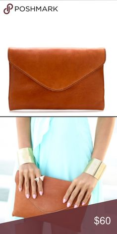 """J. CREW Invitation Clutch 100% LEATHER NWOT J. CREW Invitation Clutch 100% LEATHER // New without tags // Never been used // Dimensions: 10"""" by 6"""" // 15% off on bundles // I ship same-day from pet/smoke-free home // Buy with confidence. I am a top seller here with over 300 5-star ratings and A LOT of love notes. Check them out. 😊😎 J. Crew Bags Clutches & Wristlets"""