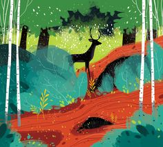 """I like these colors.   Check out this @Behance project: """"Sketch 