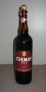 Chimay Première (Red) Dubbel, Bieres de Chimay, Belgium 7%ABV