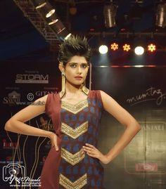 My Confident Model #AjjuRoy @ #BhopalStyleWeek