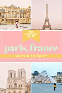 Places to visit in Paris in 2 days: what to do and see, where to stay, what to eat   drink, and more! // Paris travel guide, things to do in Paris, What to do in Paris, Paris City Guide, Best Paris activities