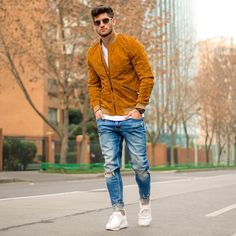 Fall Autumn men's outfit