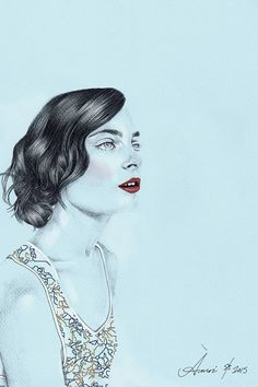 Designer Fashion Week Inspiration - Alejandra Alonso fo r A Moi