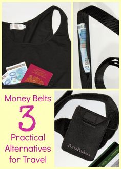 These days there are loads of better alternatives to the old, bulky money belt designs. Here are three of my favourites.