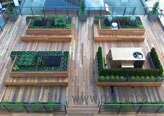 Vancouver Canada News The Vancouver Club rooftop garden