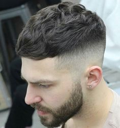 Image result for mens short fringe blunt