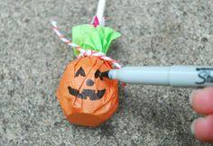 Pumpkin Lollipops Suckers
