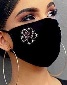 Diy Face Mask, Face Masks, Fashion Face Mask, Mask Design, Stylish, Household Items, Shopping, Bear, Amazing