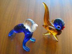 Weiteres - Figur Vogel / Figur Walroß Murano Glas Vintage - ein Designerstück von Fundhaus bei DaWanda