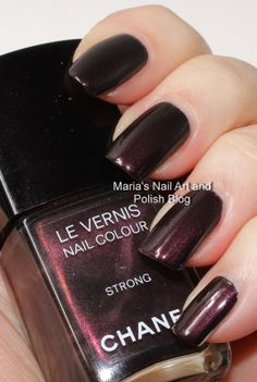 Chanel Strong SoHo Story collection fall 2010 swatches