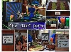 Birthday Party Ideas Entertainers and Venues DC: Star Wars Party from Frosted Events DC Kids Birthday Party Preteen Birthday Parties, Birthday Party Themes, Birthday Ideas, Star Wars Party Games, Star Wars Cupcakes, Dr Seuss Baby Shower, Star Wars Birthday, Party Ideas, Party Time