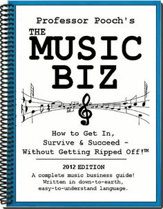 The Music Biz Book: How to get in, survive & succeed – without getting ripped off…