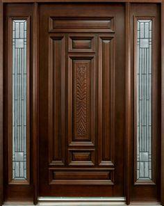 Main Door Design Photos, Single Main Door Designs, House Main Door Design, Front Door Design Wood, Wooden Door Design, Main Entrance Door Design, Leelah, Wood Entry Doors, Wooden Doors