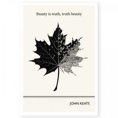 """Beauty is truth, truth beauty"" John Keats"
