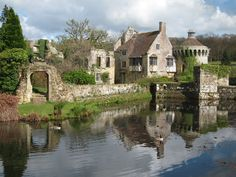 Scotney Old Castle, Kilndown, Kent - UK