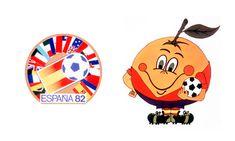 Naranjito, Spain, 1982 World Cup Mascot Logo 1982 World Cup, Fifa World Cup, World Cup Groups, World Cup Final, Writing Art, Sports Logo, My Childhood, Belgium, Branding Design