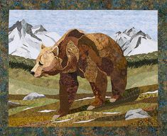 Grizzly Bear by Sue Rasmussen