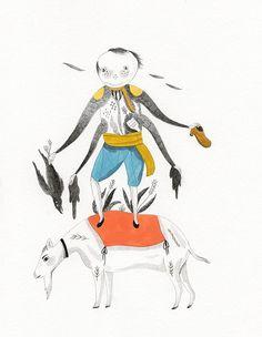 inca pan | Illustration / Andersen by Inca Pan