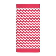 Cute Chevron Pattern Background with Trim Beach To