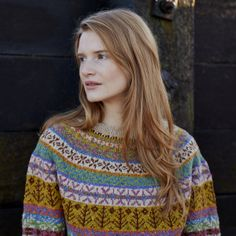 Lovage from Windswept collection by Marie Wallin, via Kate Davies