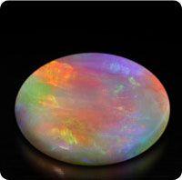 Semi-black Opal