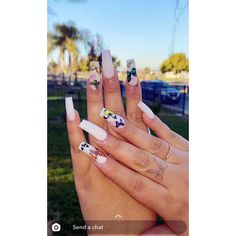 White nails with butterflies Barbie Pink Nails, White Nails, Butterflies, Engagement Rings, Jewelry, White Nail Beds, Enagement Rings, Wedding Rings, Jewlery