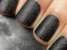 Matte Sparkly Black