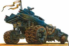 The Explosively Awesome Concept Art Of Mad Max: Fury Road