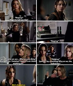 """#PLL 6x06 """"No Stone Unturned"""" """"I haven't even stolen anything, yet!"""" I cried!!!!!!"""