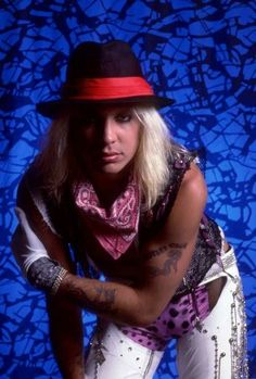 Vince Neil, Nikki Sixx, 80s Music, Glam Rock, Kinds Of Music, Metal Bands, Hard Rock, Cowboy Hats, Lace Up