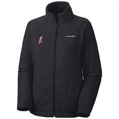 Columbia Tested Tough in Pink Benton Springs Full Zip Women's Jacket #breastcancerawareness