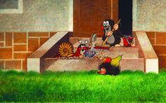 (2014-07) Muldvarpen fejer trappe sammen med sneglen og pindsvinet
